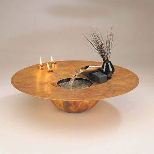Copper+Water+and+Fire+Circular+Tabletop+Fountain Way Fair
